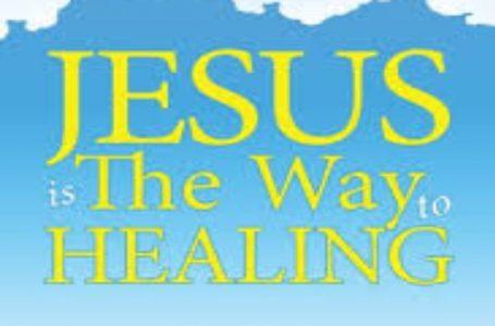 Đức Giê-su Ki-tô – ĐƯỜNG CHỮA LÀNH