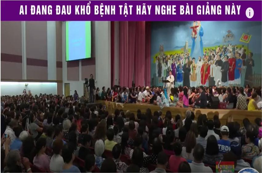 Bài giảng hay của Cha Vũ Thế Toàn: Đau khổ và bệnh tật