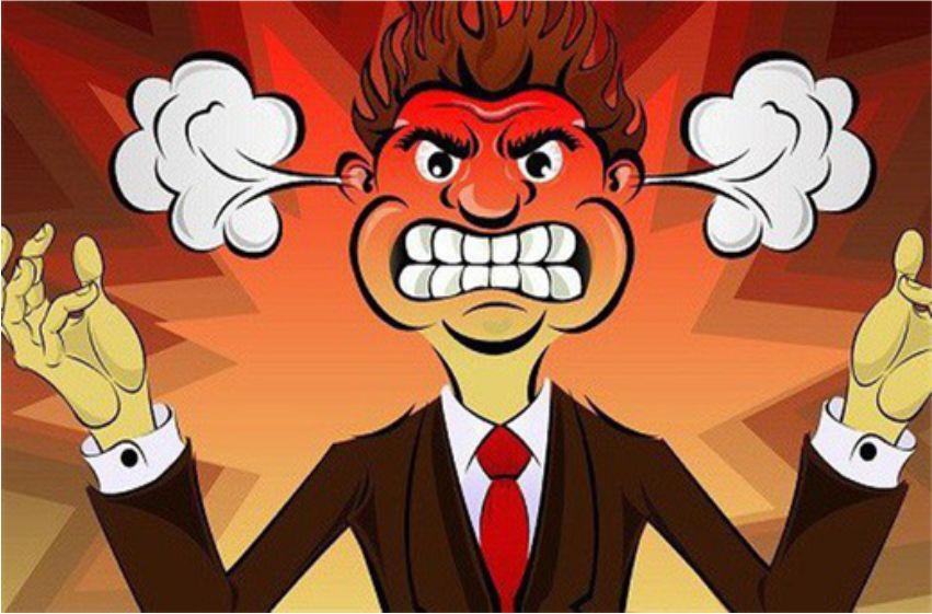 Tức giận và cách kìm nén cơn giận