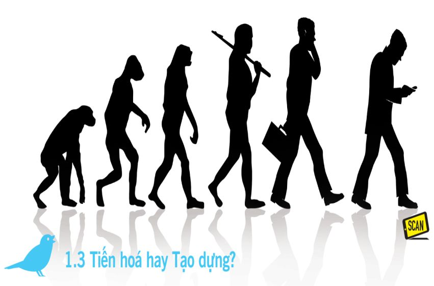 1.3 Tiến hóa hay tạo dựng – Tweets Với Chúa