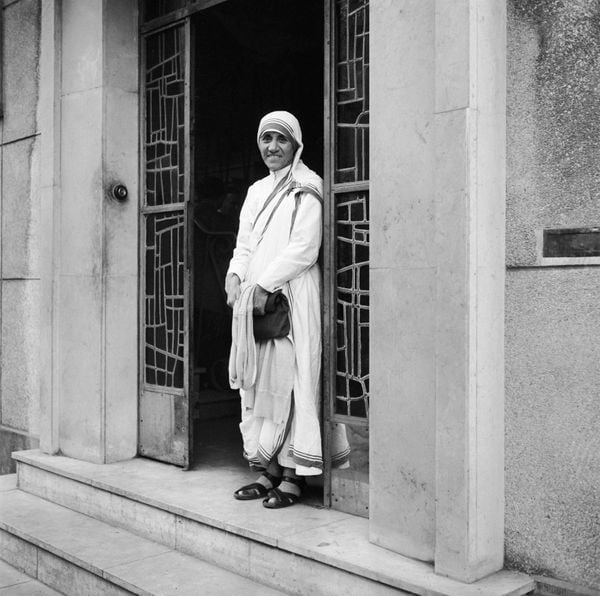 Mẹ Teresa ở Paris năm 1965.