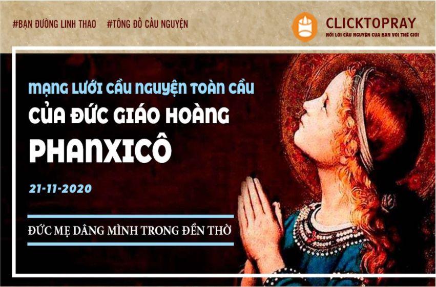 21-11Mạng lưới cầu nguyện toàn cầu