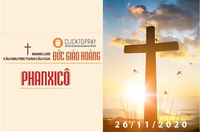26-11 Mạng lưới cầu nguyện toàn cầu