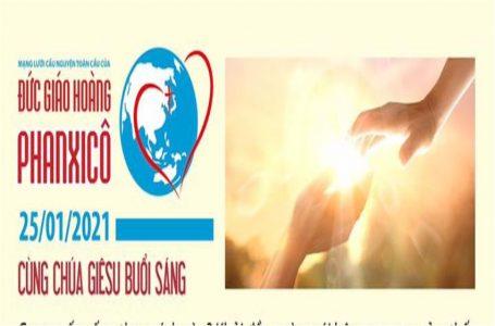 25-01 Mạng lưới cầu nguyện toàn cầu
