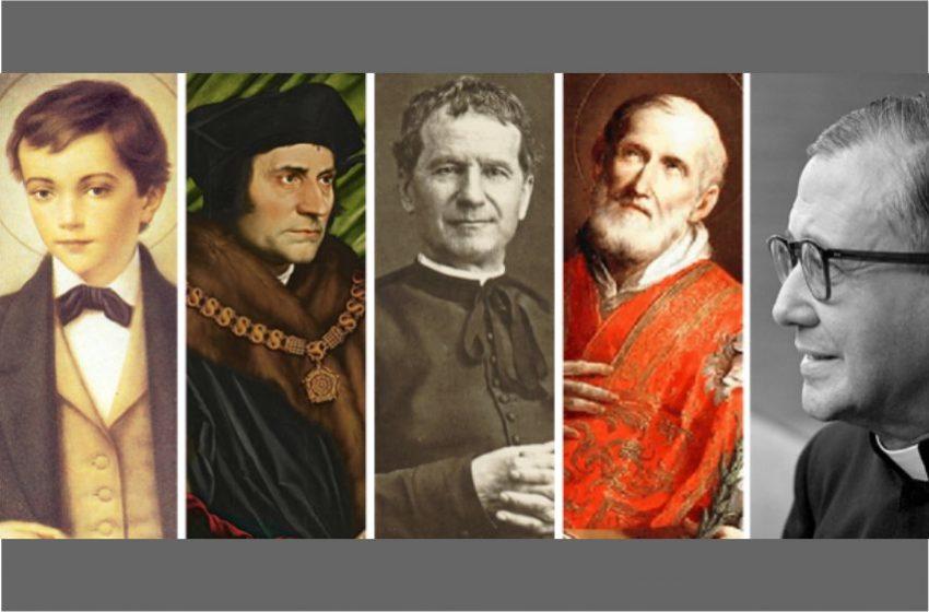 Năm vị thánh đem lại niềm vui và hài hước cho gia đình bạn