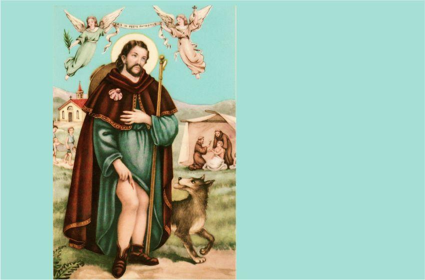 Thánh Rôcô: Bổn mạng của các nạn nhân dịch bệnh