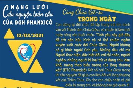 12-03 Mạng lưới cầu nguyện toàn cầu