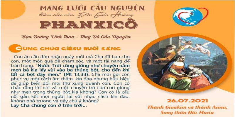 26-07 Mạng lưới cầu nguyện toàn cầu