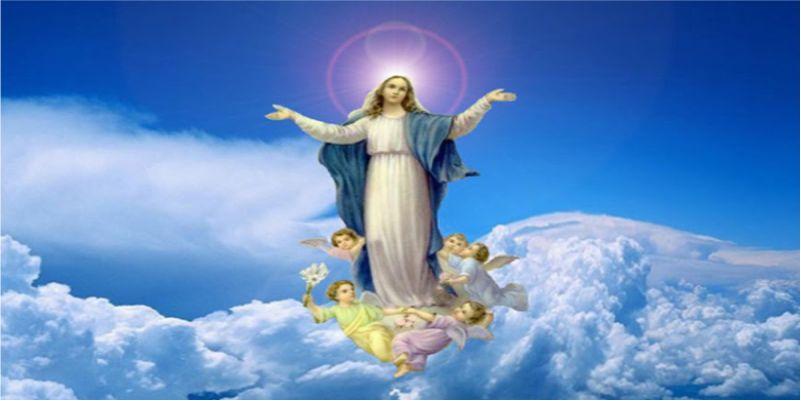 Đức Mẹ hồn xác về trời